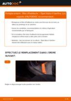 Comment changer : filtre d'habitacle sur Opel Astra H berline - Guide de remplacement