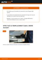 Comment changer : roulement de roue arrière sur Peugeot 406 berline - Guide de remplacement