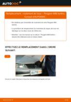 PEUGEOT 406 tutoriel de réparation et de maintenance