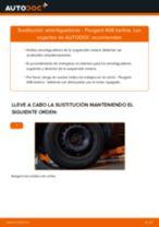 Cambio Kit amortiguadores delanteros y traseros PEUGEOT bricolaje - manual pdf en línea