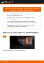 Come cambiare filtro antipolline su Opel Astra H sedan - Guida alla sostituzione