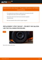 Online manual on changing Brake caliper yourself on Peugeot 308 Mk2