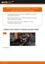 Odporúčania od automechanikov k výmene VW Golf 3 2.0 Klinový rebrovaný remen