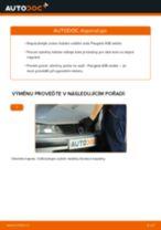 Jak vyměnit zadní ložisko kola na Peugeot 406 sedan – návod k výměně