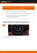 Jak vyměnit zadní tlumiče pérování na Peugeot 406 sedan – návod k výměně