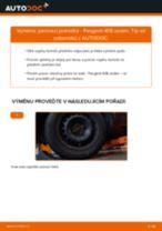 Jak vyměnit přední pérovací jednotka na Peugeot 406 sedan – návod k výměně