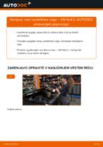 Kako zamenjati avtodel rotor razdelilnika vziga na avtu VW Golf 2 – vodnik menjave