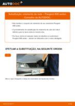 Mudar Kit rolamento roda traseira e dianteira PEUGEOT faça você mesmo - manual online pdf