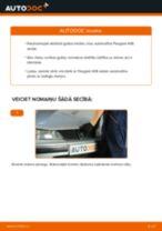 Kā nomainīt un noregulēt Piekare, Riteņu gultņa korpuss: bezmaksas pdf ceļvedis