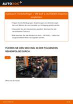 JP GROUP 1191300800 für GOLF II (19E, 1G1) | PDF Handbuch zum Wechsel