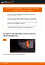 Schritt-für-Schritt-PDF-Tutorial zum Innenraumfilter-Austausch beim OPEL ASTRA H Saloon (L69)