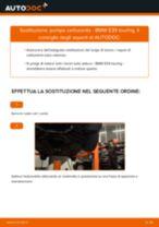 Impianto di alimentazione carburante manuale di sostituzione con illustrazioni