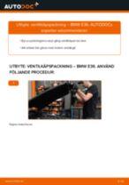 ELRING 701.602 för 3 Sedan (E36) | PDF instruktioner för utbyte