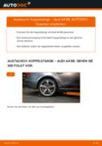 DIY-Leitfaden zum Wechsel von Koppelstange beim AUDI A5