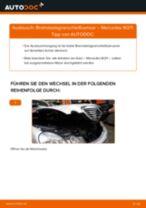 Tipps von Automechanikern zum Wechsel von MERCEDES-BENZ Mercedes W211 E 270 CDI 2.7 (211.016) Bremssattel