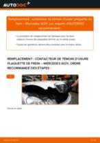 Système de freinage manuels d'atelier en ligne