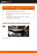 Udskift fjederben for - Audi A4 B8   Brugeranvisning