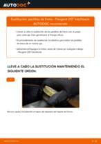 Cómo cambiar: pastillas de freno de la parte trasera - Peugeot 207 hatchback | Guía de sustitución