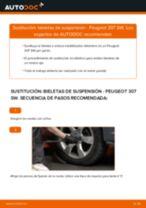 Manual de instrucciones Peugeot 308 SW 2008