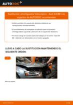 Cómo cambiar: amortiguador telescópico de la parte delantera - Audi A4 B8 | Guía de sustitución
