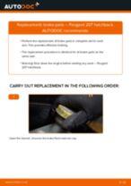 PEUGEOT 207 service manuals