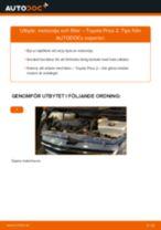 PDF guide för byta: Oljefilter TOYOTA PRIUS Halvkombi (NHW20_)