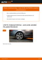 Byta stabilisatorstag bak på Audi A4 B8 – utbytesguide