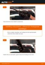 Montering Reparasjonssett, støtte / styreledd CITROËN C3 I (FC_) - steg-for-steg manualer