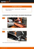Toyota Corolla Compact E10 reparasjon og vedlikehold håndbøker