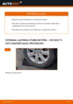 Jak wymienić łącznik stabilizatora tył w VW Golf 5 - poradnik naprawy