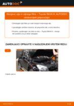 Navodila po korakih za popravilo ALFA ROMEO 156