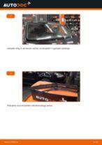 Kako zamenjati avtodel brisalce zadaj na avtu VW Golf 5 – vodnik menjave