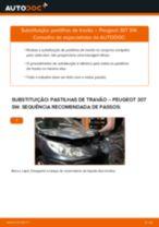 Recomendações do mecânico de automóveis sobre a substituição de PEUGEOT Peugeot 307 SW 1.6 16V Amortecedor