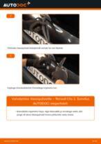 RENAULT CLIO Pidurisilinder vahetamine: juhend online