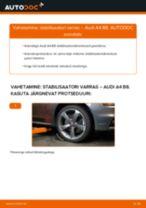 AUDI Q5 samm-sammuline remondijuhend