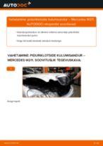 DIY käsiraamat Lisakomplekt, Ketaspidurikate asendamiseks AUDI A8 2020