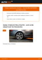 AUDI Q5 instrukcijas par remontu un apkopi