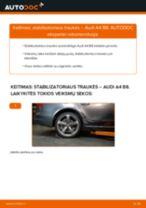 AUDI Q5 remonto ir priežiūros instrukcija