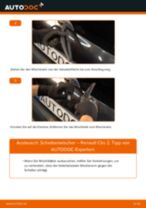 RENAULT CLIO II (BB0/1/2_, CB0/1/2_) Frontscheibenwischer ersetzen - Tipps und Tricks