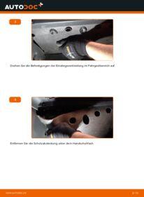 Wie der Wechsel durchführt wird: Innenraumfilter 1.9 TDI Golf 5 tauschen