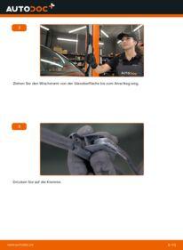 Wie der Wechsel durchführt wird: Scheibenwischer 2.8 VR6 Golf 3 tauschen