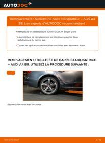Comment effectuer un remplacement de Biellette De Barre Stabilisatrice sur 2.0 TDI Audi A4 B8