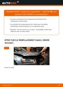 Comment effectuer un remplacement de Amortisseurs sur 2.0 TDI Audi A4 B8