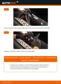 Comment effectuer un remplacement de Essuie-Glaces sur 1.2 Renault Clio 2