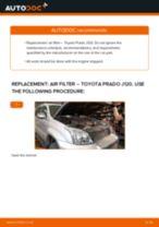 TOYOTA LAND CRUISER service manuals