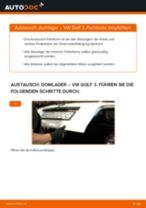 Anleitung: VW Golf 3 Domlager hinten wechseln