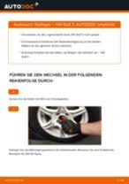 Wie Rippenriemen beim Toyota Rav4 xa1 wechseln - Handbuch online