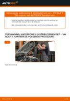 Tips van monteurs voor het wisselen van VW Golf 5 1.6 Multiriem