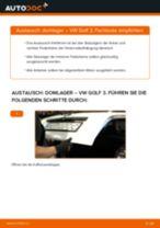 Domlager hinten selber wechseln: VW Golf 3 - Austauschanleitung