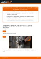 Comment changer : ressort de suspension arrière sur Toyota Prado J120 - Guide de remplacement